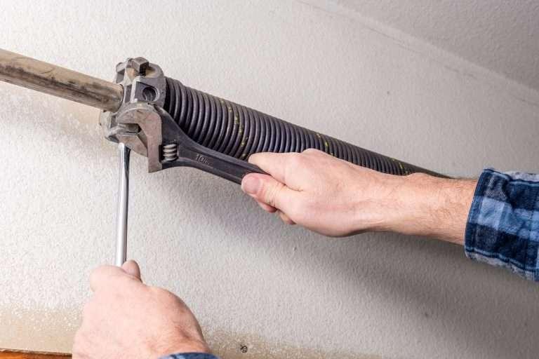 garage door spring repair calgary